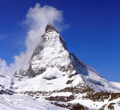matterhorn maximum Royaltyfria Bilder