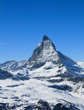 Matterhorn maximum Arkivbild