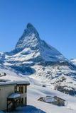 Matterhorn maximum Royaltyfri Bild
