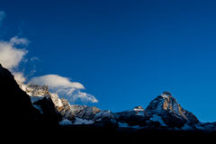 Matterhorn (Monte Cervino) Stock Photo