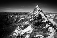 Matterhorn (Monte Cervino) summit Stock Photo