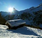 Matterhorn mountain Stock Photography