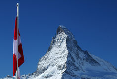 Matterhorn mountain Stock Photography