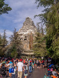 Matterhorn mountain ride at the Disneyland Royalty Free Stock Photos