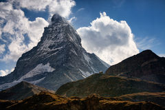 Matterhorn mountain in Switzerland Royalty Free Stock Photo