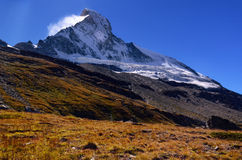 Matterhorn Mountain, Switzerland Royalty Free Stock Photos