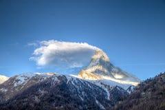 Matterhorn mountain in Switzerland Stock Photos