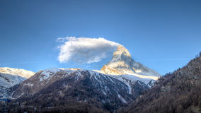 Matterhorn mountain in Switzerland Royalty Free Stock Image