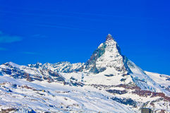 Matterhorn mountain Royalty Free Stock Image