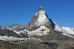 Matterhorn Mountain Stock Image