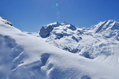 Matterhorn mountain in Zermatt, Switzerland Royalty Free Stock Images