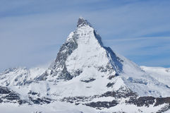 Matterhorn mountain in Zermatt, Switzerland Royalty Free Stock Photography