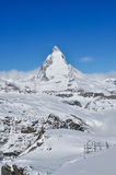 Matterhorn mountain in Zermatt, Switzerland Stock Photo