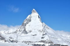 Matterhorn mountain in Zermatt, Switzerland Royalty Free Stock Photo