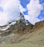 Matterhorn nelle alpi svizzere Fotografie Stock Libere da Diritti