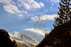 Matterhorn od Zermatt Fotografia Stock