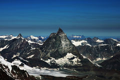 Matterhorn peak Stock Photography