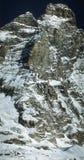 Matterhorn peak. (4474m) - Monte Cervino - Italia - Cervinia Royalty Free Stock Image
