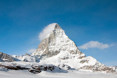 Matterhorn peak Royalty Free Stock Images