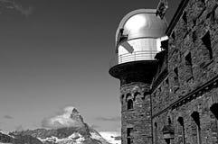 Matterhorn. Peak in swiss alps stock images