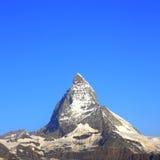 Matterhorn peak, Switzerland stock photo