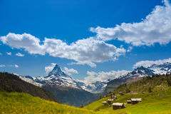 Matterhorn peak, Switzerland Stock Images