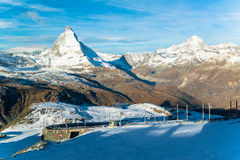 Matterhorn peak, Zermatt Royalty Free Stock Photography