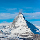 Matterhorn peak, Zermatt Stock Photo