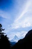 Matterhorn. Peak at Zermatt, Switzerland Stock Images