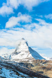 Matterhorn peak, Zermatt, Switzerland Royalty Free Stock Photo
