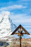 Matterhorn peak, Zermatt, Switzerland Royalty Free Stock Photos