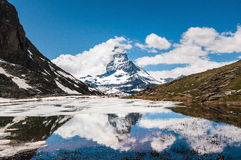 The Matterhorn Royalty Free Stock Photo