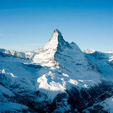 Matterhorn from Rothorn Stock Photo