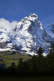 Matterhorn-Südgesicht Lizenzfreies Stockbild