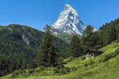 Matterhorn Schweitz Fotografering för Bildbyråer