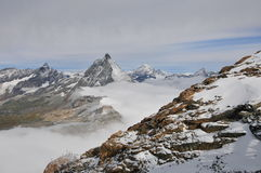 Matterhorn and sky Royalty Free Stock Photo