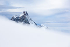 The Matterhorn, south and east face Royalty Free Stock Images