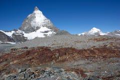 Matterhorn Suisse Images libres de droits