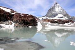 Matterhorn. Suiza. Imagenes de archivo