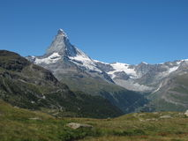 Matterhorn On A Sunny Day Royalty Free Stock Image
