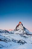 Matterhorn at Sunrise Stock Image