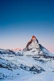 Matterhorn at Sunrise Stock Image