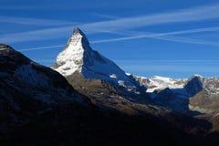 Matterhorn at sunrise Royalty Free Stock Photo