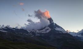 Matterhorn sunset Royalty Free Stock Image