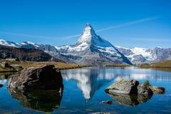 Matterhorn, Svizzera Fotografie Stock