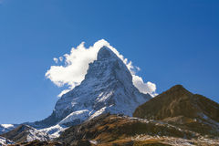 Matterhorn, Svizzera Immagini Stock Libere da Diritti