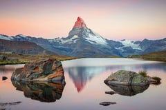Free Matterhorn, Swiss Alps. Stock Image - 198225411