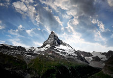 Matterhorn - Swiss Alps Royalty Free Stock Image