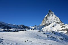 Matterhorn in swiss Alps Royalty Free Stock Image