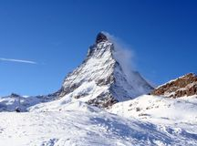 Matterhorn swiss Alps Royalty Free Stock Photo